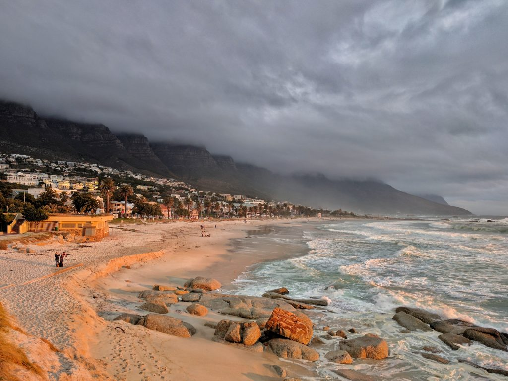 beach in Camps Bay