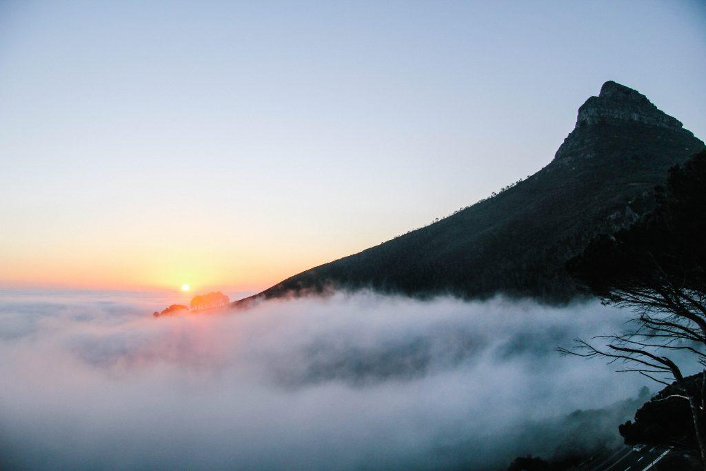 Sunset Lion Head Mountain